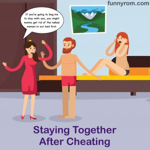 Staying together after cheating